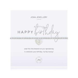 Joma Jewellery Happy Birthday Bracelet